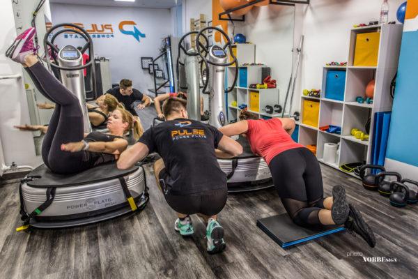 Pulse Power Plate személyi edzés pillanatkép