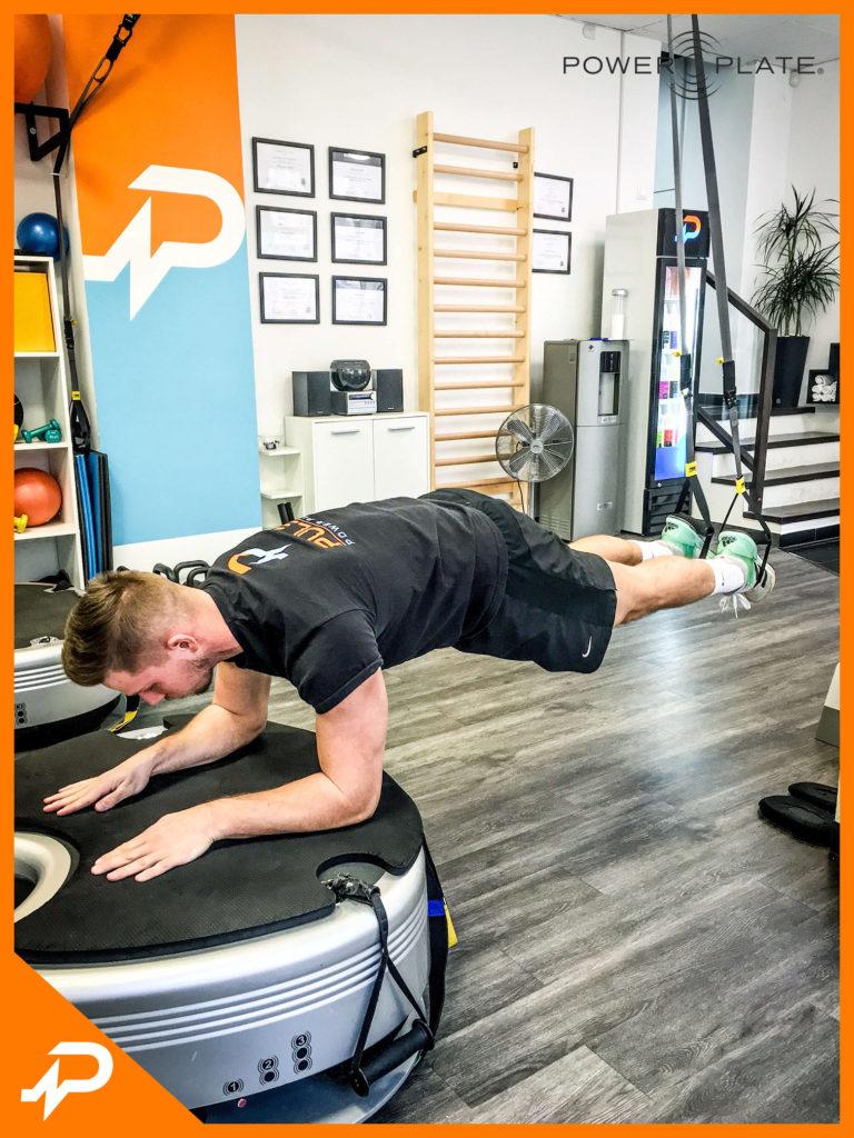 TRX Plank gyakorlat