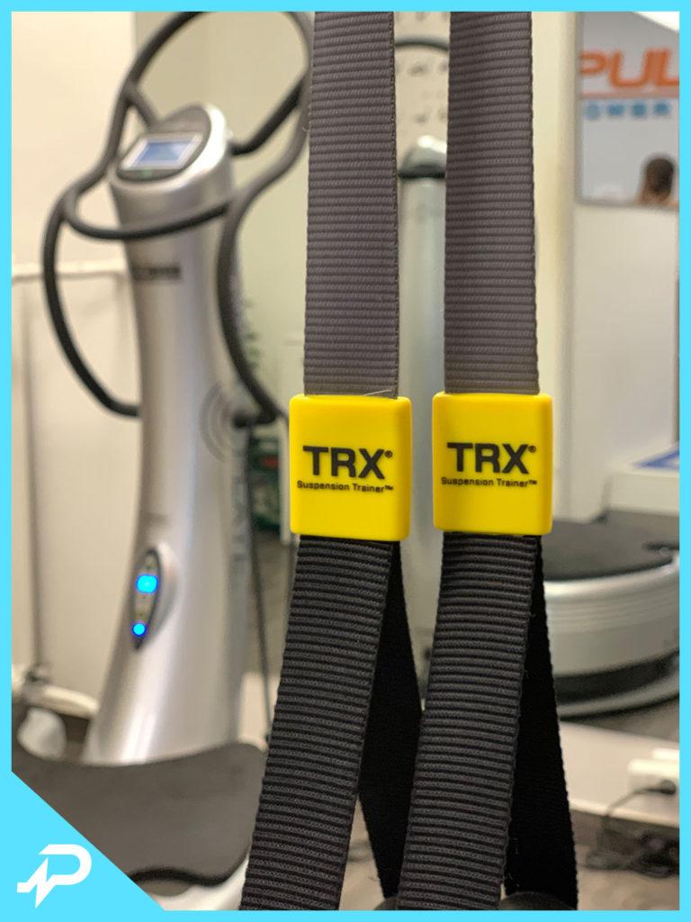 TRX edzés és Power Plate