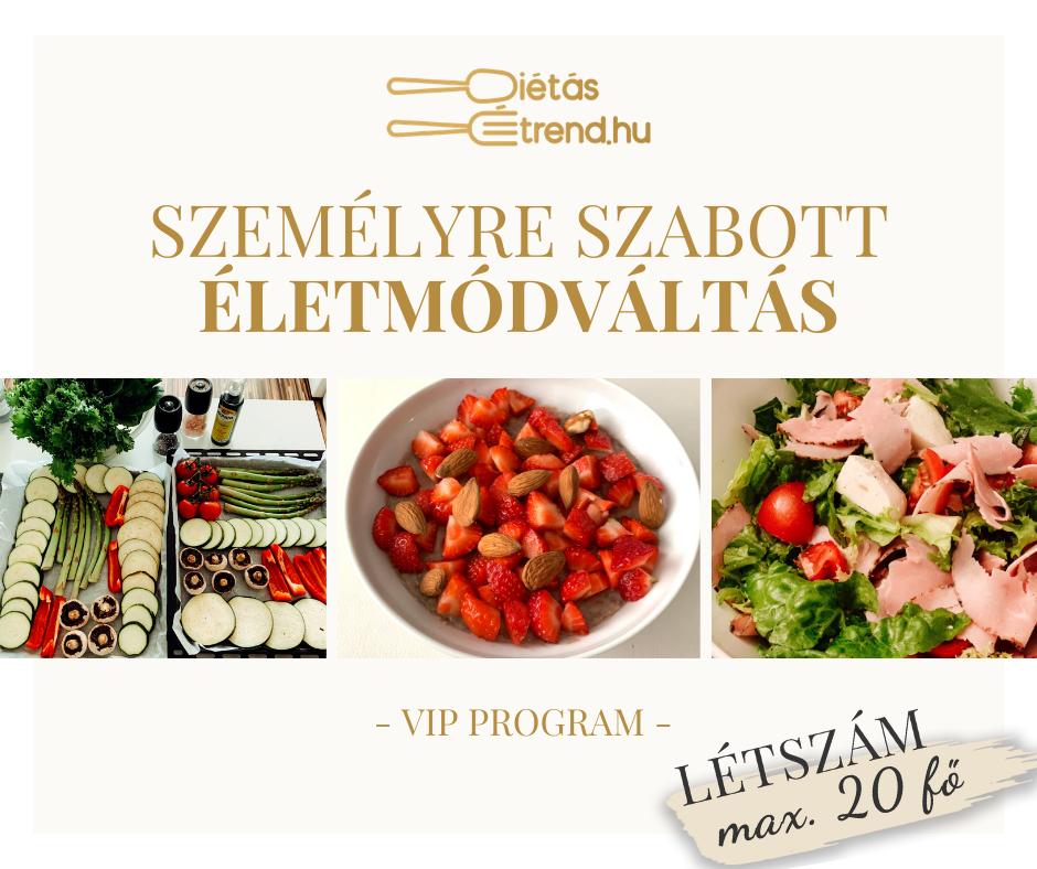Diétás Étrend.hu - VIP PROGRAM